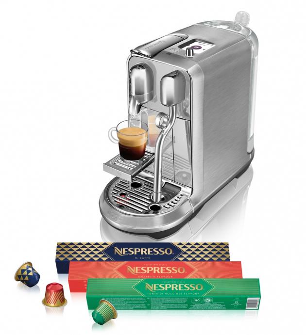 Nespressouvádí na trhlimitovanou vánoční řadu kávVariations Italia.