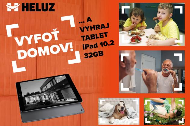 HELUZ ocení vítěznou fotku tabletem Apple iPad