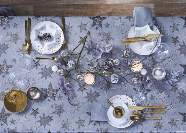 Ubrusy, běhouny a naperony z kolekce Christmas Elegance (Apelt), 100% bavlna, cena na dotaz, www.klingel.cz