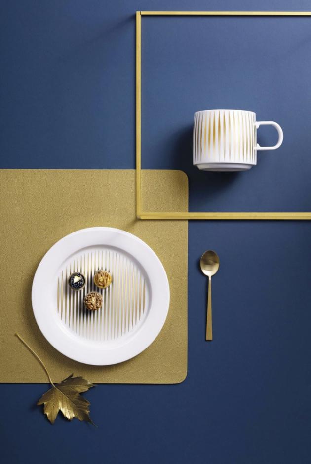 Porcelán z kolekce Tres'Or Gold (ASA Selection) prodává například www.ifantazie.cz