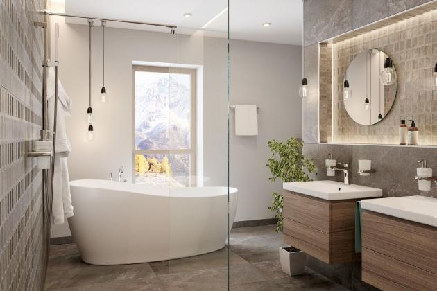 Vytvořit domácí wellness můžete vhodnou úpravou koupelny. Rozsah renovací samozřejmě záleží na velikosti prostoru, který máte k dispozici, a také na možnostech rozpočtu.