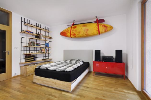 Místo na spaní - lůžko z IKEA