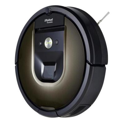 Model Roomba 980 (iRobot), smart technologie, aplikace Home, ovladatelný jedním tlačítkem odkudkoliv, součástí balení mop Brava, cena 21 999 Kč, www.irobot.cz