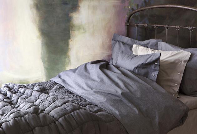 Povlečení Dottningholm (Himla) z perkálového bavlněného vlákna, přikrývka 135x200 cm, polštář 50x60 cm, cena 3 215 Kč, www.coclea.cz
