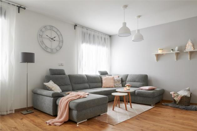 Zrekonstruované bydlení ve skandinávském vintage stylu