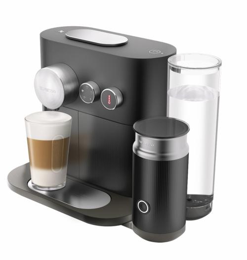 Kávovar Expert (Nespresso), Bluetooth Smart, 3 teplotní stupně, 4 velikosti šálku, cena 8 900 Kč, www.nespresso.com