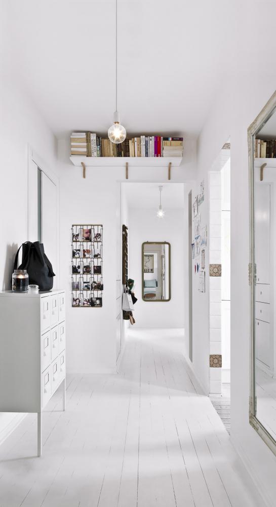 CHODBA Také chodba je plná nápaditých detailů, které dávají interiéru šmrnc