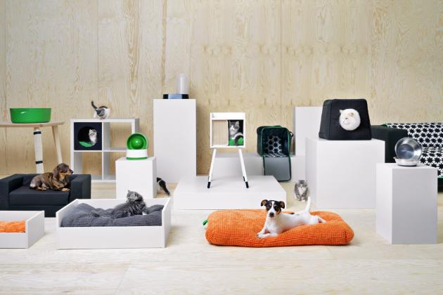 V krásné kolekci Lurvig (IKEA) určené pro čtyřnohé mazlíčky najdete všechno, co bude váš pejsek nebo kočička potřebovat ke spokojenému životu, www.ikea.cz