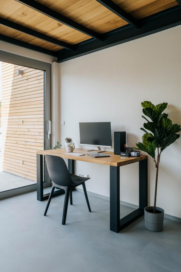 Pracovní stůl Lincoln, cena od 15 590 Kč, www.wuders.cz