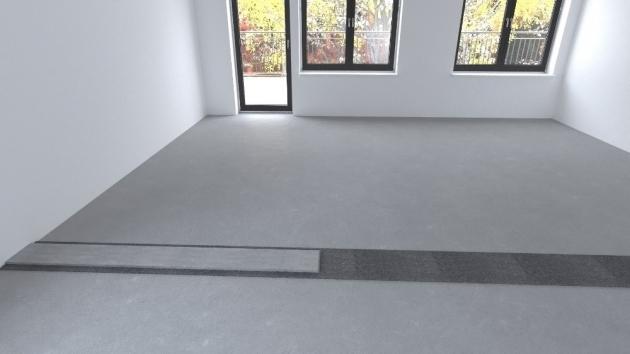 02 Zakládací malta  Na asfaltový pás se nanese zakládací malta ve dvou pruzích cca 9 cm širokých.