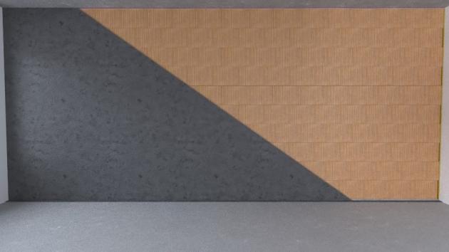 09 Omítání  Celá stěna se kompletně omítne. Pro omítání je vhodné používat strojně nanášené omítky.