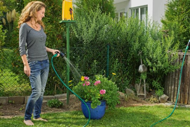Přispějte kochraně naší planety a osvojte si zelenější způsob života. Odborník zHornbachu radí, jak efektivně hospodařit spitnou i dešťovou vodou.