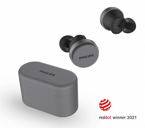 Skutečně bezdrátová sluchátka do uší Philips T8506 s aktivním potlačením hluku