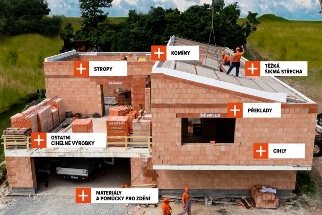 Online webinář: Stavební systém HELUZ v praxi