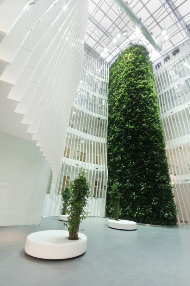 Vertikální kaskádová zahrada (Němec)