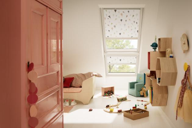 Nová kolekce rolet VELUX pro relaxační, hravý i elegantní interiér