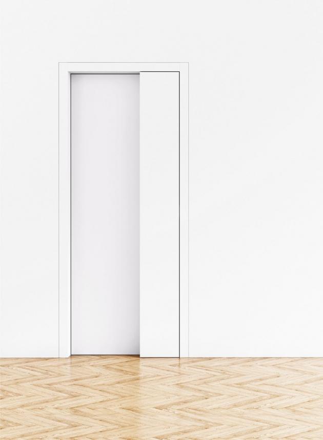Dveře Muteo (Sapeli), speciální konstrukce umožňuje snadnou manipulaci bez kliky, cena na dotaz, www.sapeli cz