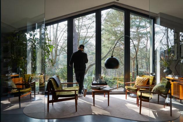 Armin Morbach a jeho dům v Hamburku