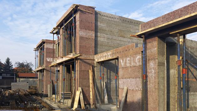 Stavební systém VELOX, zvaný také systém ztraceného bednění, představuje technologii monolitických staveb.