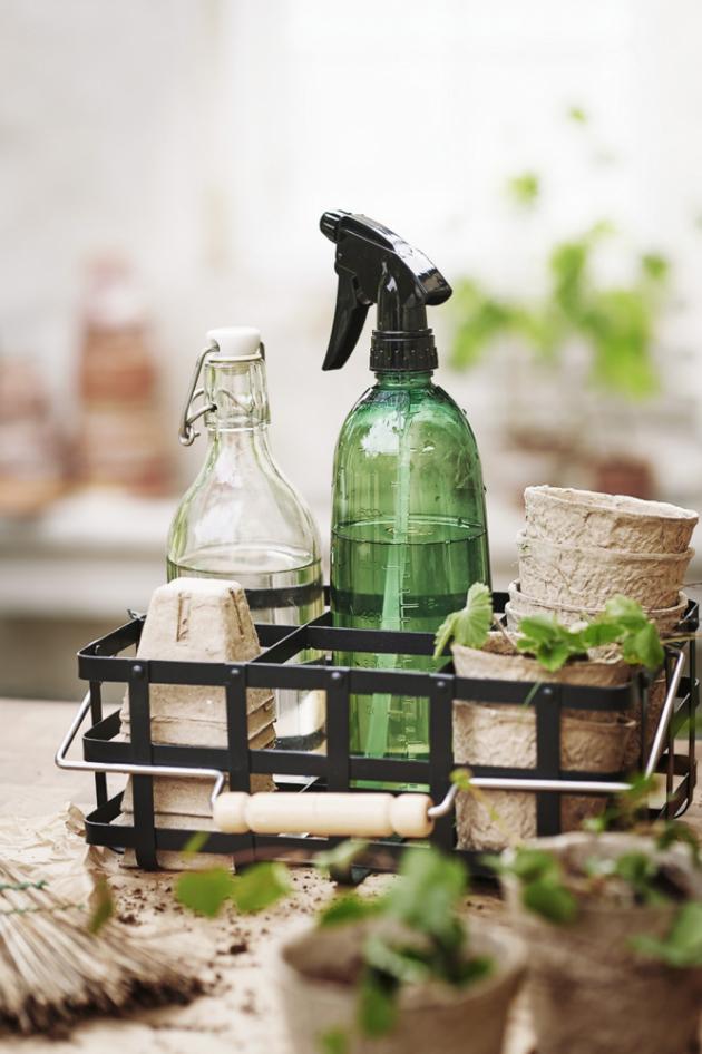 Rustikální úklidová řada Borstad je vyrobená z ekologických materiálů