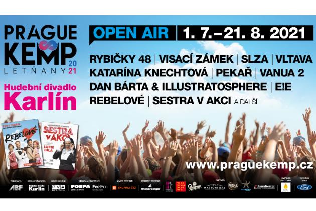 Soutěž o 3x2 vstupenky na PRAGUE KEMP LETŇANY