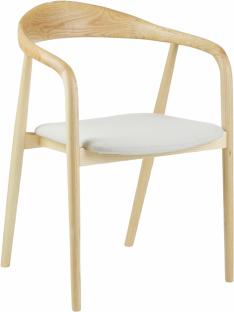 Židle s područkami z masivního dřeva Angelin, 4 429 Kč, Westwing Collection, Westwingnow.cz