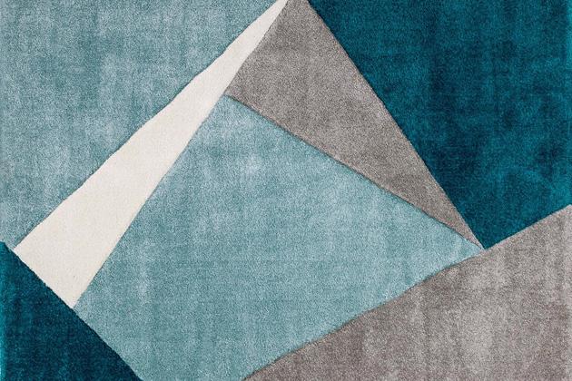 Koberec s geometrickým vzorem My Broadway, polypropylen, 120 × 170 cm, cena 2 444 Kč, www.westwingnow.cz