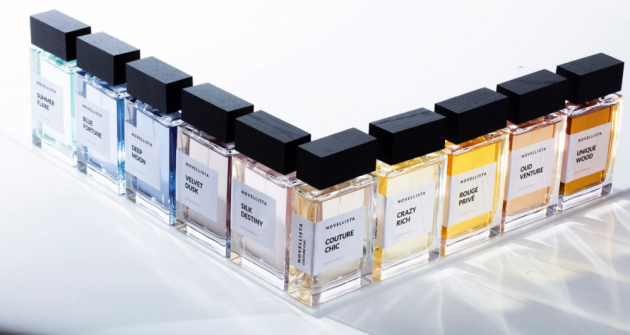 NOVELLISTA přichází s unikátní, niche knihovnou svůdných parfémů. Prestižní parfémáři z Grasse a Paříže se nechali při jejím vytvoření inspirovat příběhy, tématy, místy či postavami známých, světových, literárních děl. Každá parfémová kompozice tak vypráví neopakovatelný olfaktorický příběh