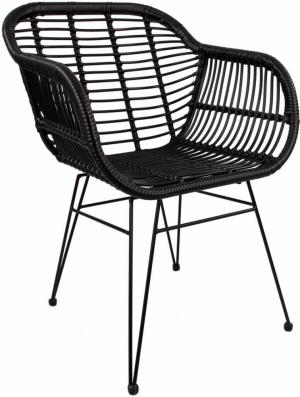 Polyratanová židle s područkami Costa (2 ks), 4 229 Kč, Westwing Collection, WestwingNow.cz