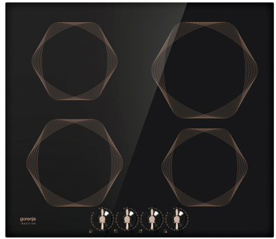 Indukční deska IK 640 INB (Gorenje), stylové ovládací prvky a rámování varných zón, praktické zabudování do roviny s pracovní deskou, cena 15 990 Kč, www.gorenje.cz