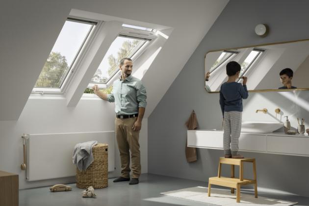Nová střešní okna VELUX mají výrazně lepší izolační vlastnosti. Zásluhu na tom má jejich inovativní konstrukce a použití vysoce kvalitních materiálů.