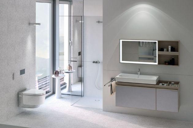Od WC můžete čekat víc, než jen dokonalé spláchnutí a snadnou údržbu. Sprchovací WC AquaClean poskytuje hned několik mimořádně rozmazlujících funkcí, kterých se již nikdy nebudete chtít vzdát.